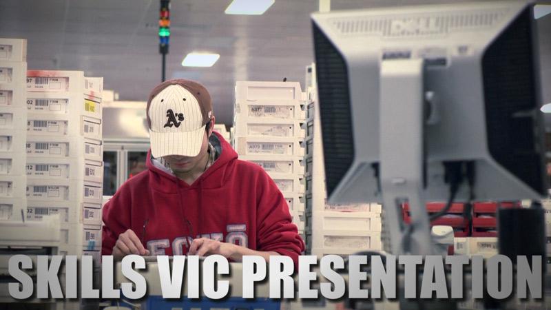 Presentation Video Created for Skills Victoria