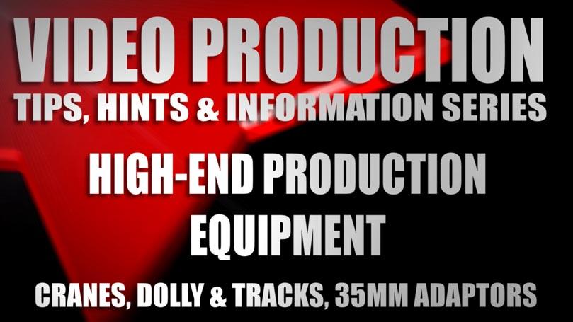 HIGHEND PRODUCTION EQUIPMEMT TITLE
