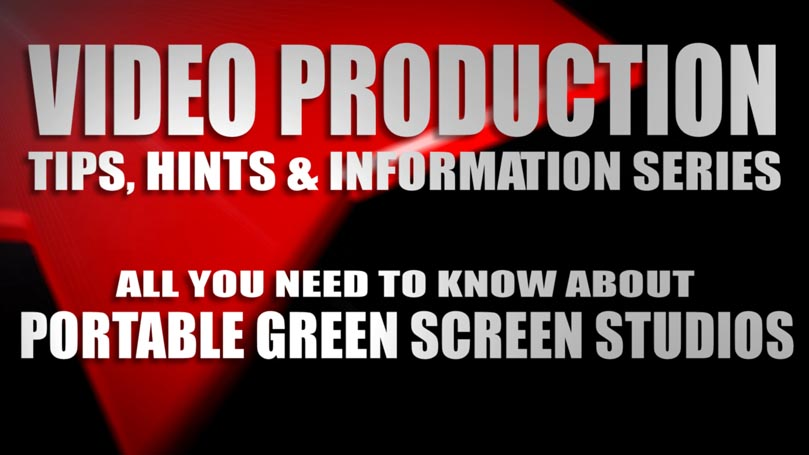 PORTABLE GREEN SCREEN BLOG