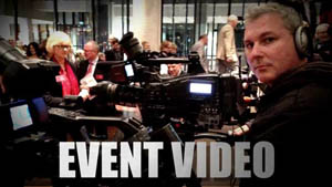 Shooting an event video at the airport