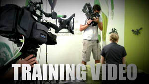 Shooting a training Video for massage