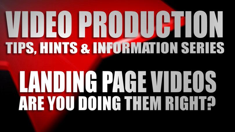 Landing Page Videos blog