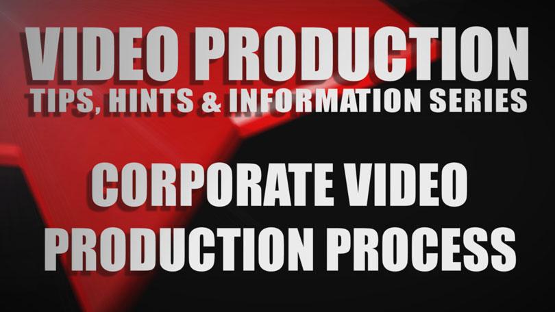 corporate video process