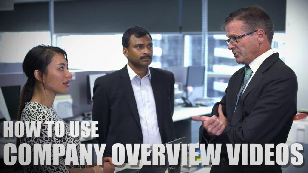 HOW TO USE COMPANY OVERVIEW VIDEOS