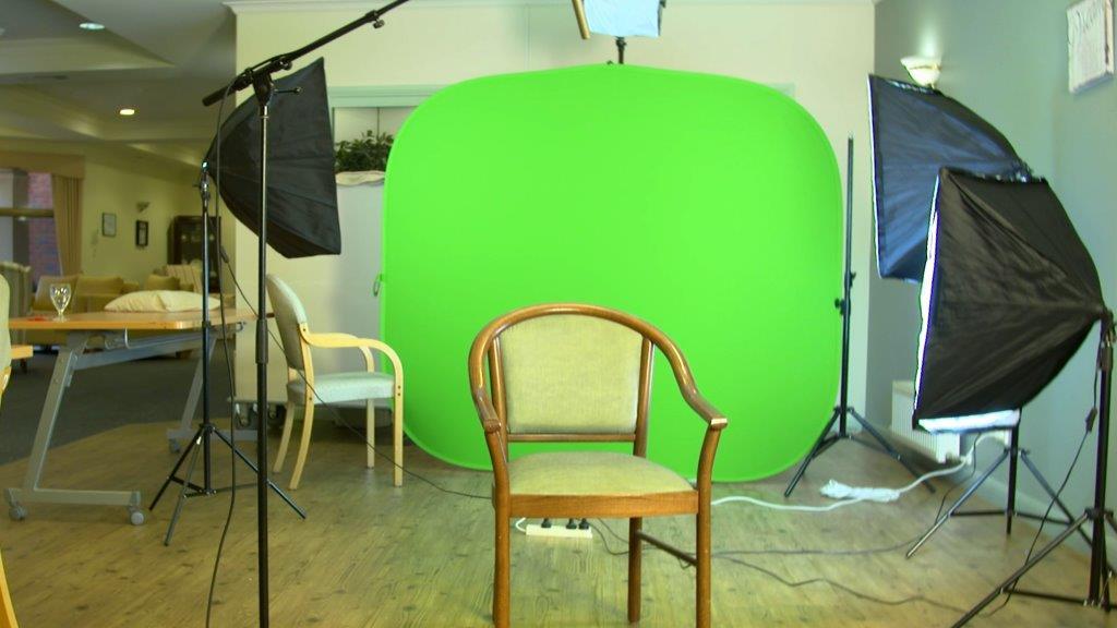 Green Screen Set up