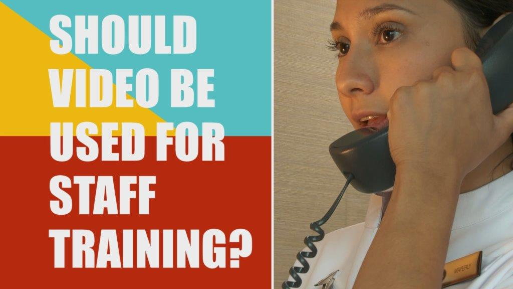 Video use for staff training