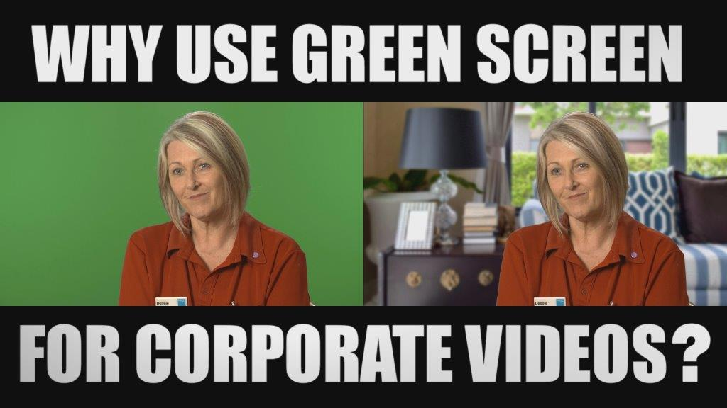 green screen for corporate videos