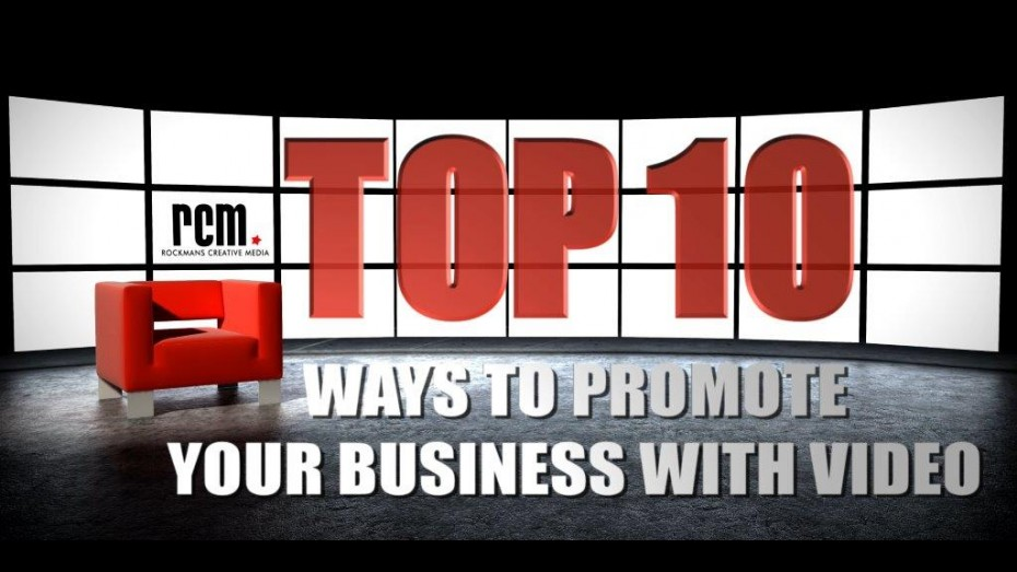 Promote your business with video