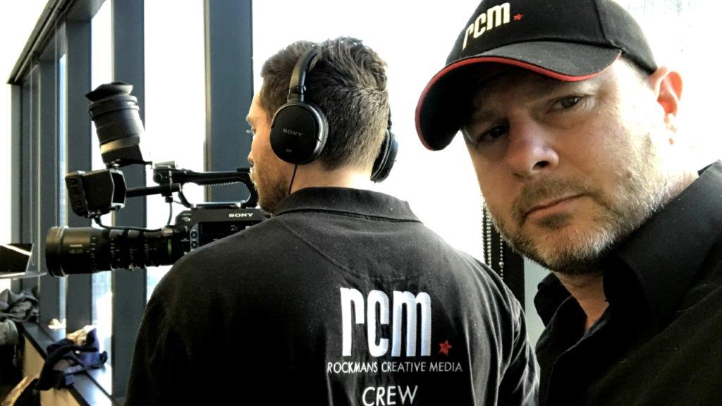 Video Director Josh Rockman with Cameraman
