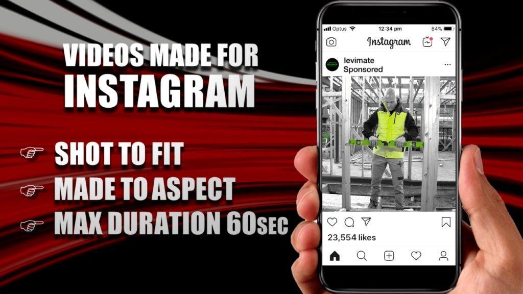 Videos made for Instagram