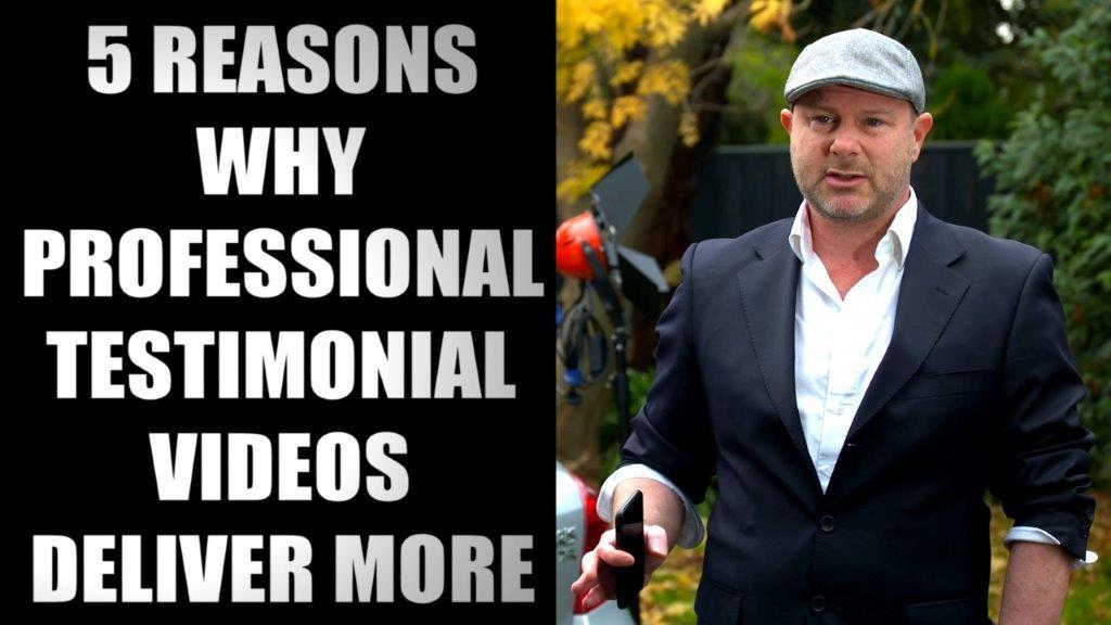 Professional Testimonial Videos
