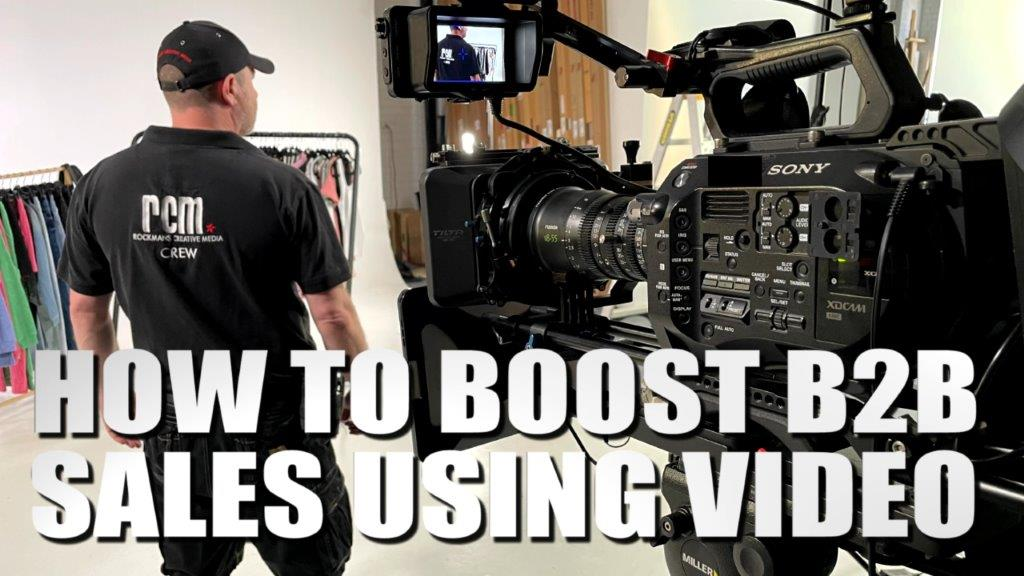 Boost B2 sales using video