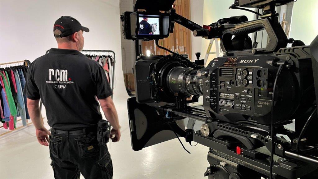 Video Director in studio