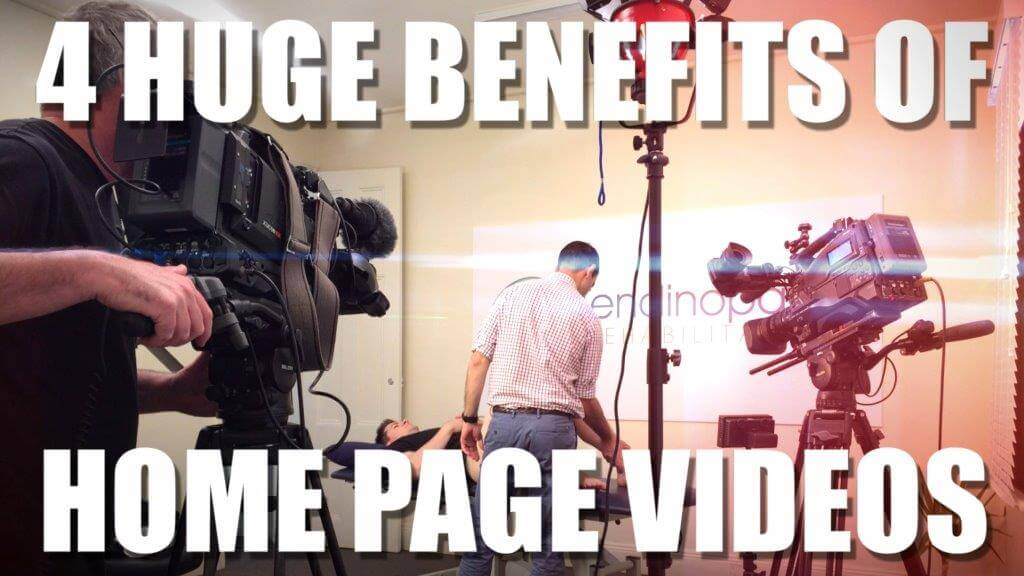MASSIVE BENEFITS OF HOME PAGE VIDEOS