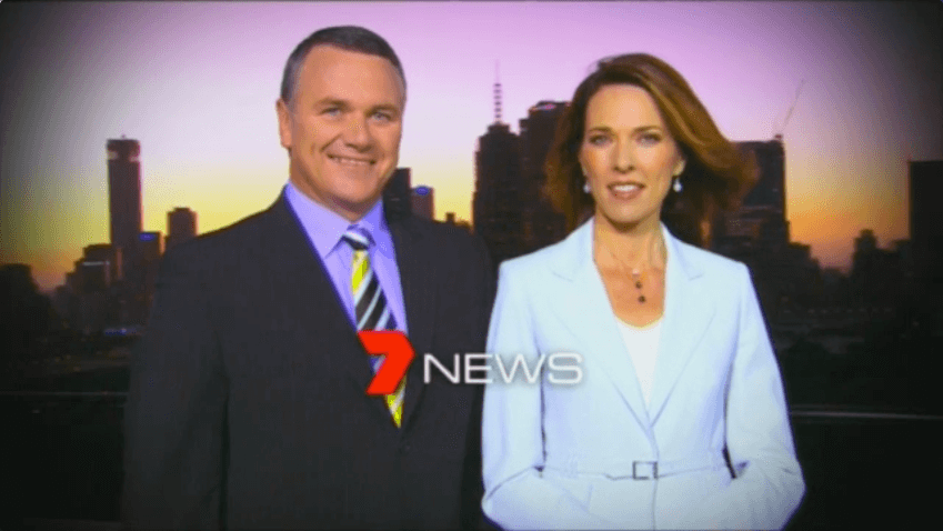 Two Newscaster