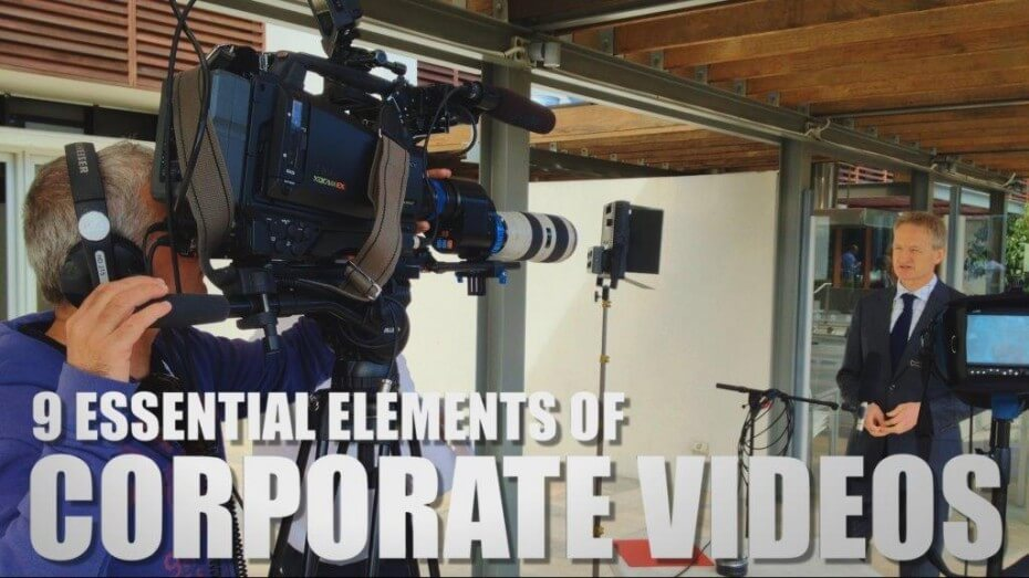 Elements of Corporate Videos