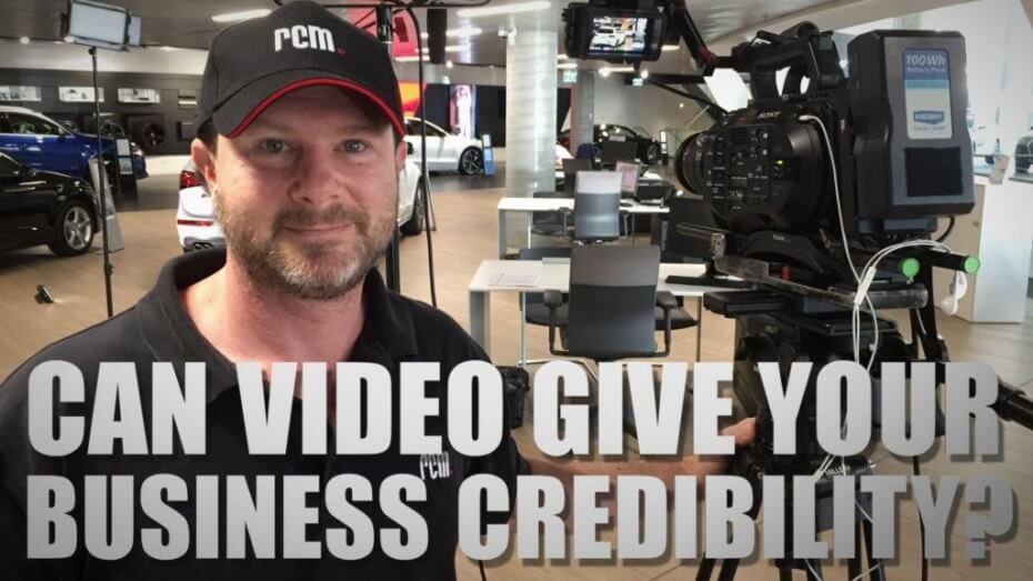 Can Video Give Businesses Credibility